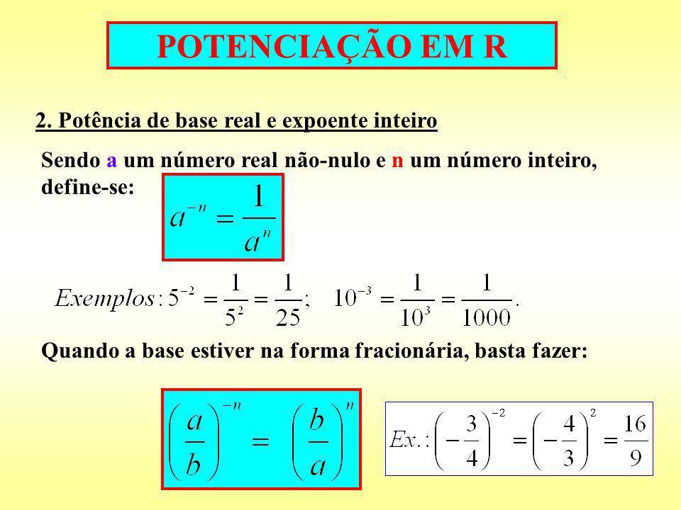 POTENCIAÇÃO EM R 3.