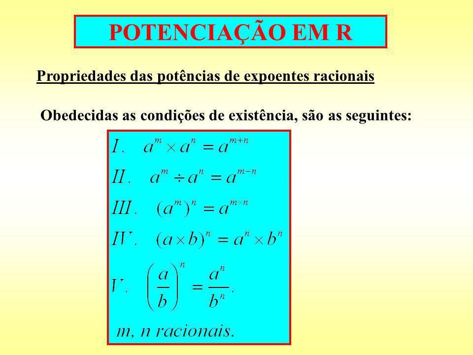 8. Calcule os valores das expressões: 9. Transforme em potência de base 2: