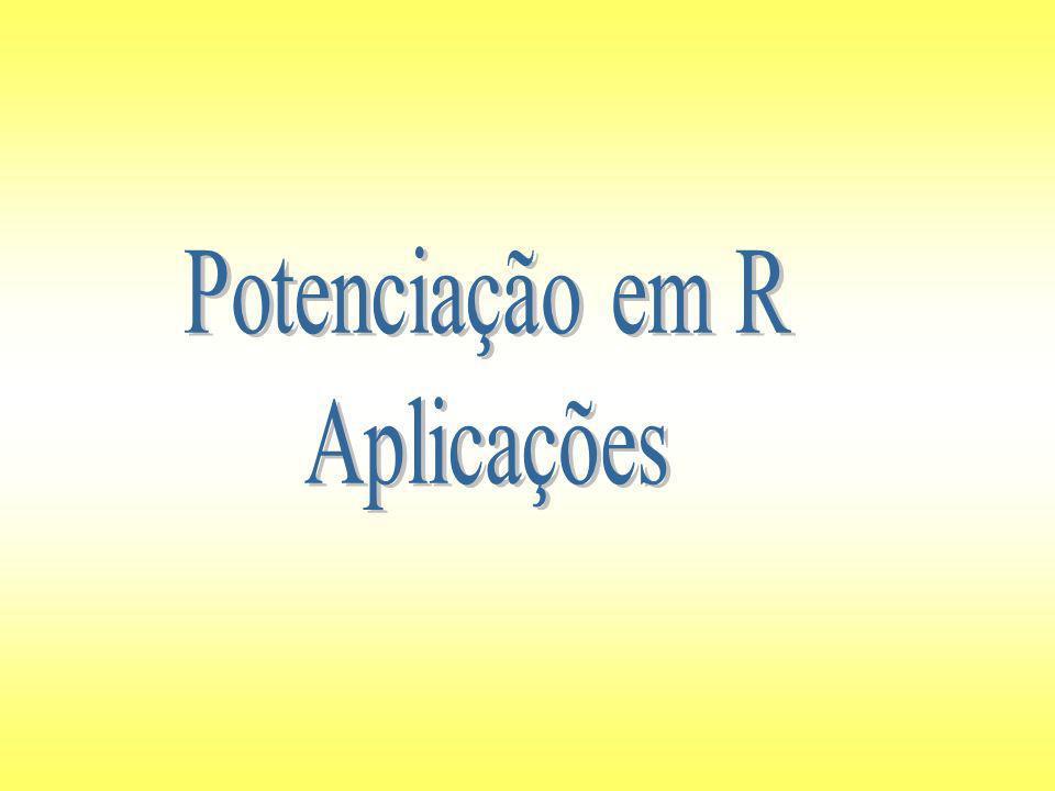 Aplicações das propriedades Escrevendo em forma de potência de base 5.