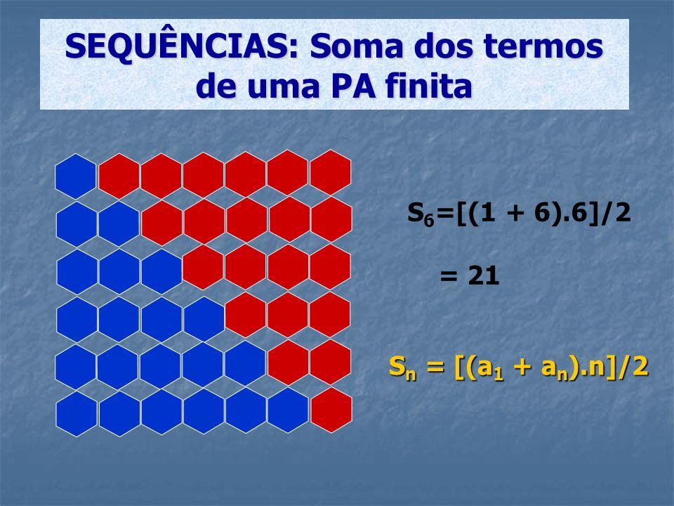 S n = a 1 + a 2 + a 3 +...