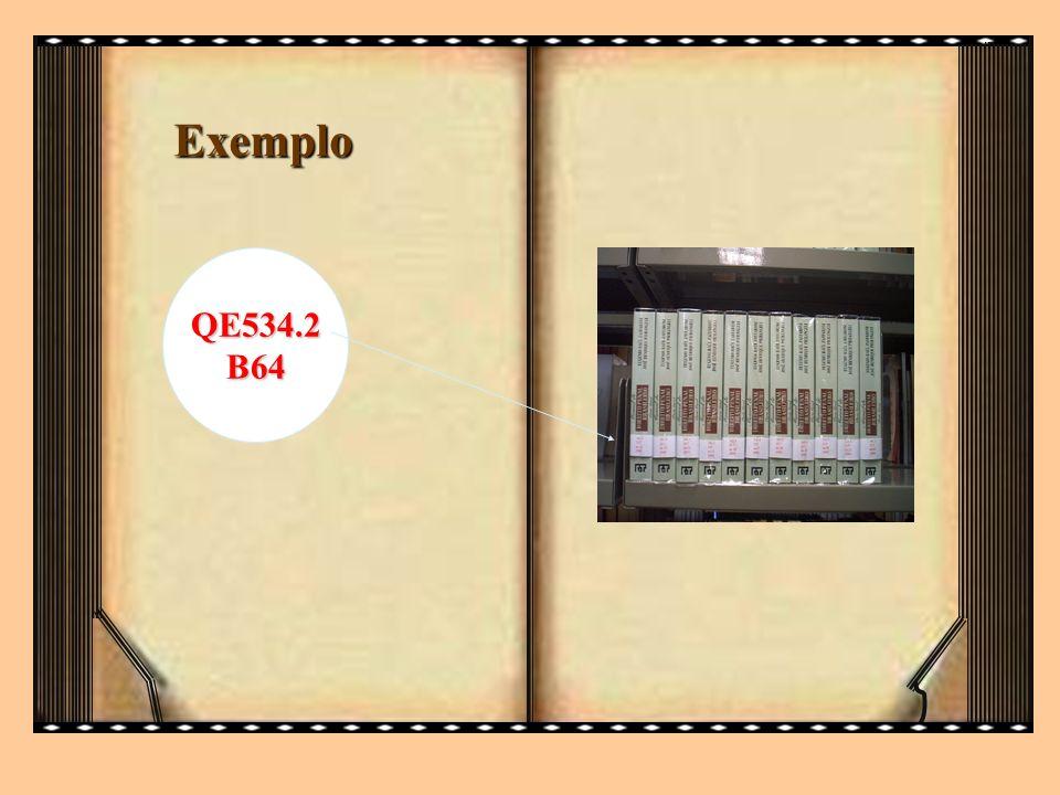 QE534.2B64 Exemplo