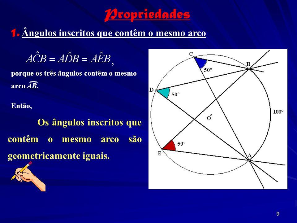 8 Exercícios: determine a amplitude dos ângulos pedidos. 1. 2.
