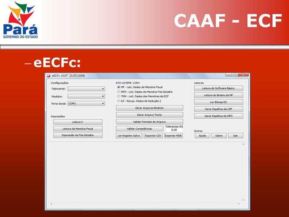 eECFc: CAAF - ECF