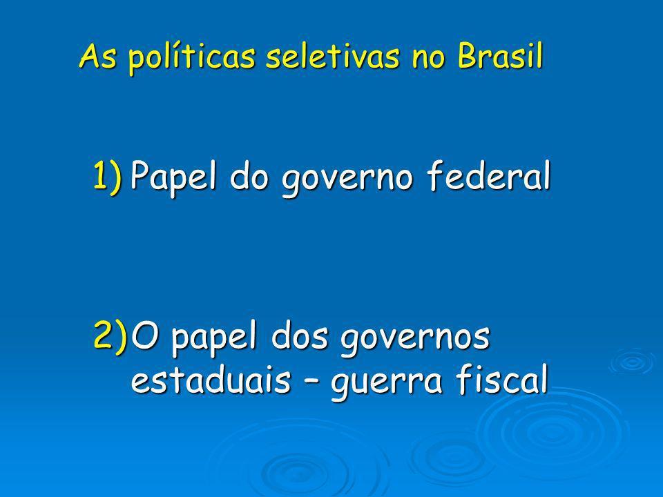 O sistema brasileiro pós 1989 1.Deixou de ser um sistema, tornou-se uma tabela de porcentagens.