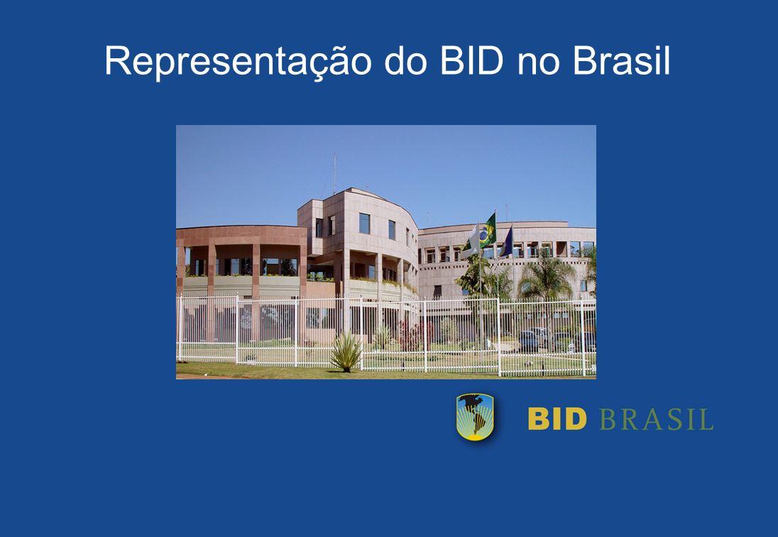 Representação do BID no Brasil
