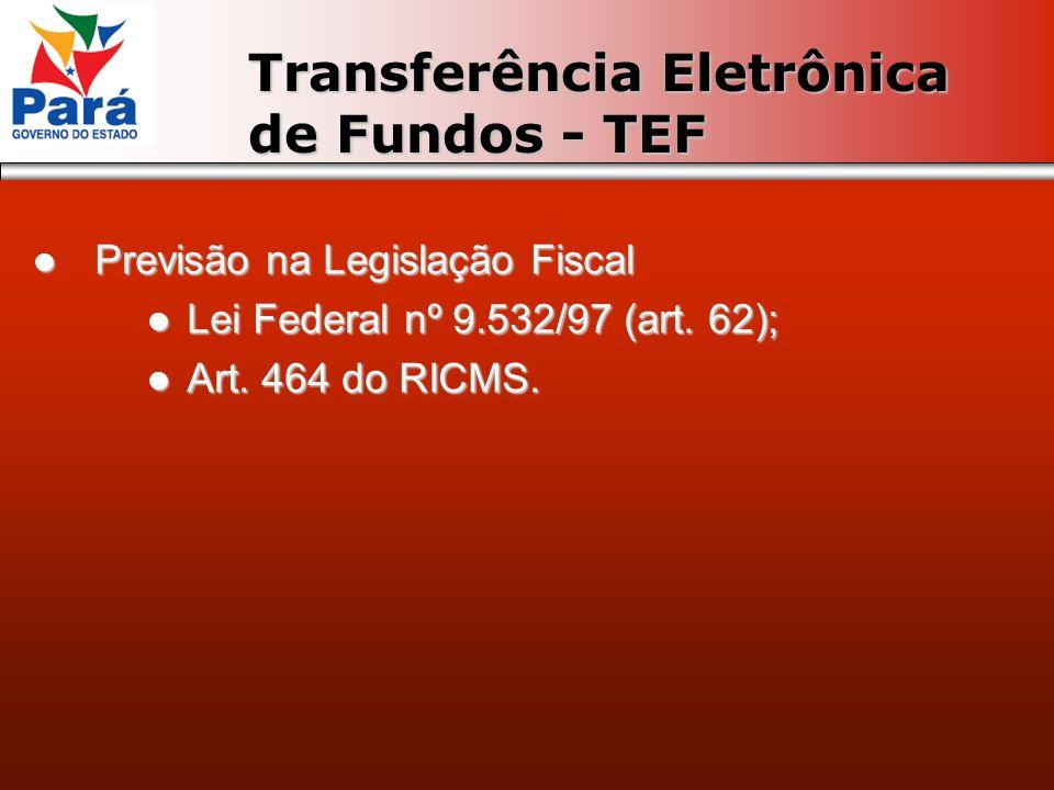 Previsão na Legislação Fiscal Previsão na Legislação Fiscal Lei Federal nº 9.532/97 (art. 62); Lei Federal nº 9.532/97 (art. 62); Art. 464 do RICMS. A