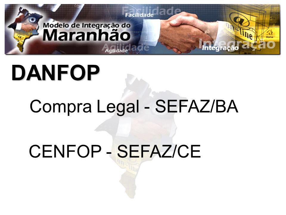 DANFOP Compra Legal - SEFAZ/BA CENFOP - SEFAZ/CE