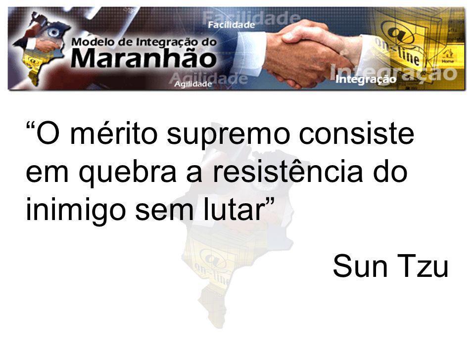 O mérito supremo consiste em quebra a resistência do inimigo sem lutar Sun Tzu