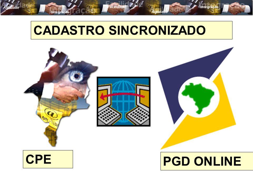 CPE PGD ONLINE CADASTRO SINCRONIZADO