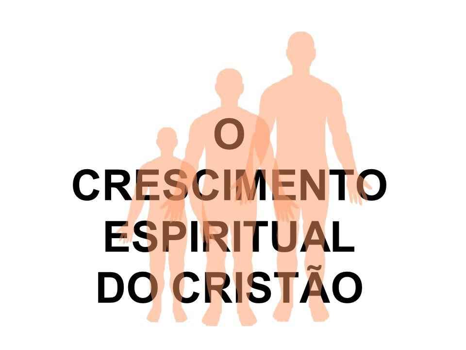 O CRESCIMENTO ESPIRITUAL DO CRISTÃO