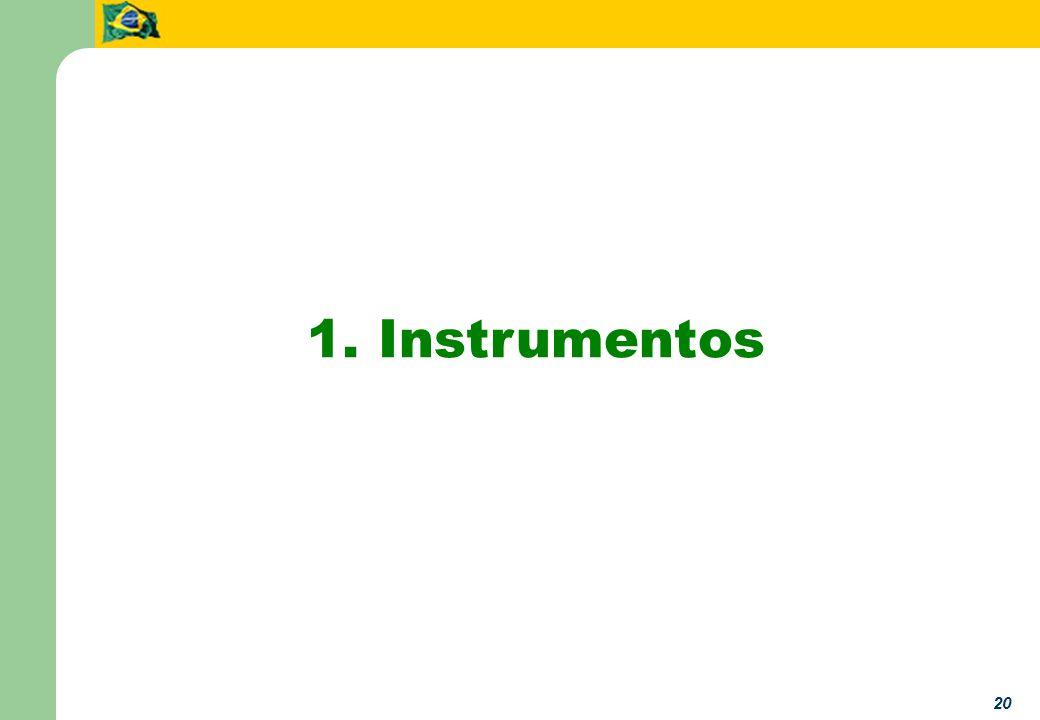20 1. Instrumentos