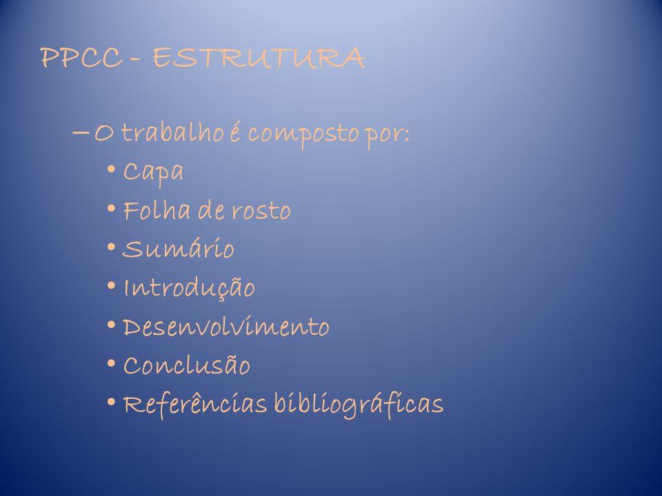 PPCC – MODELO CAPA UFSC- UNIVERSIDADE FEDERAL DE SANTA CATARINA CENTRO DE COMUNICAÇÃO E EXPRESSÃO Curso de Graduação em Letras-Português na modalidade a distância (letra tamanho 14) RELATÓRIO PRÁTICA PEDAGÓGICA COMO COMPONENTE CURRICULAR (letra tamanho 14) NOME DO ALUNO (letra tamanho 12) CIDADE - ESTADO MÊS – ANO (letra tamanho 12)