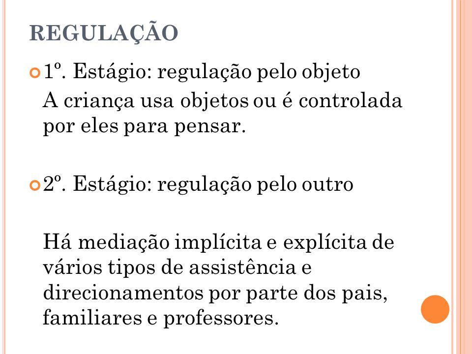 REGULAÇÃO 1º.