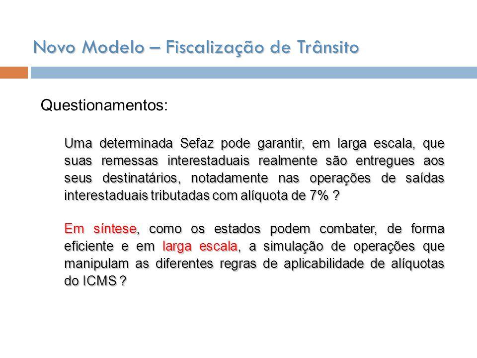 COE – Central de Operações Estaduais Definição dos Canais: Vermelho Verde Amarelo Branco Azul Preto F= M.A F(CV)= S/A+ E/S+ TIA+ VlNfe+..........