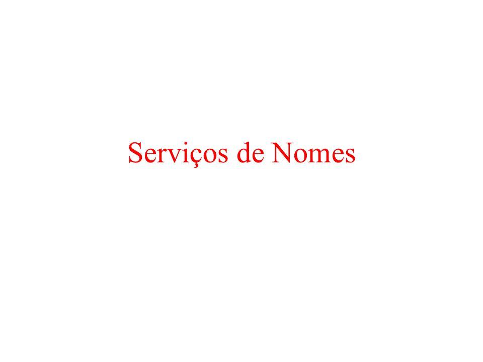 Serviços de Nomes