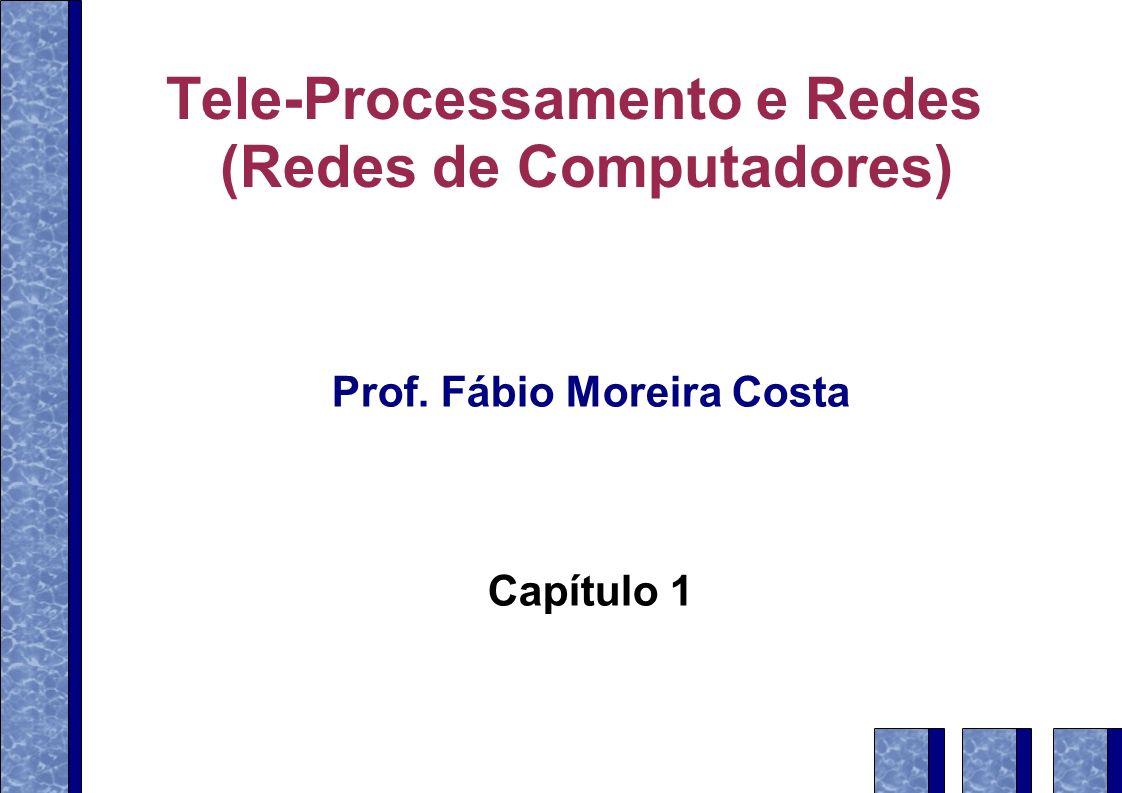WANs – configuração típica Teleprocessamento e Redes – Prof.