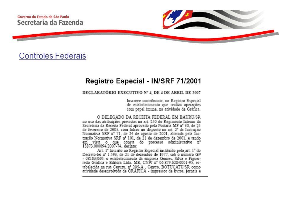 Controles Federais DIF Imune Quem é obrigado a declarar.