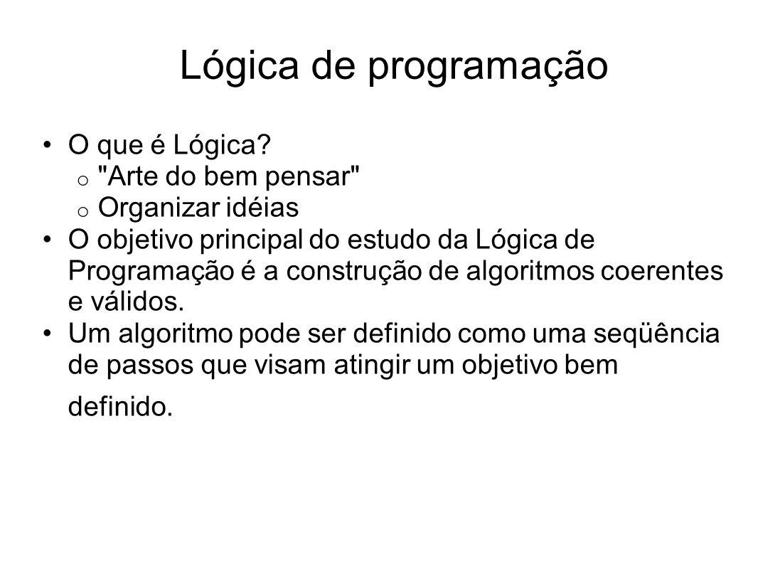 O que é Lógica? o