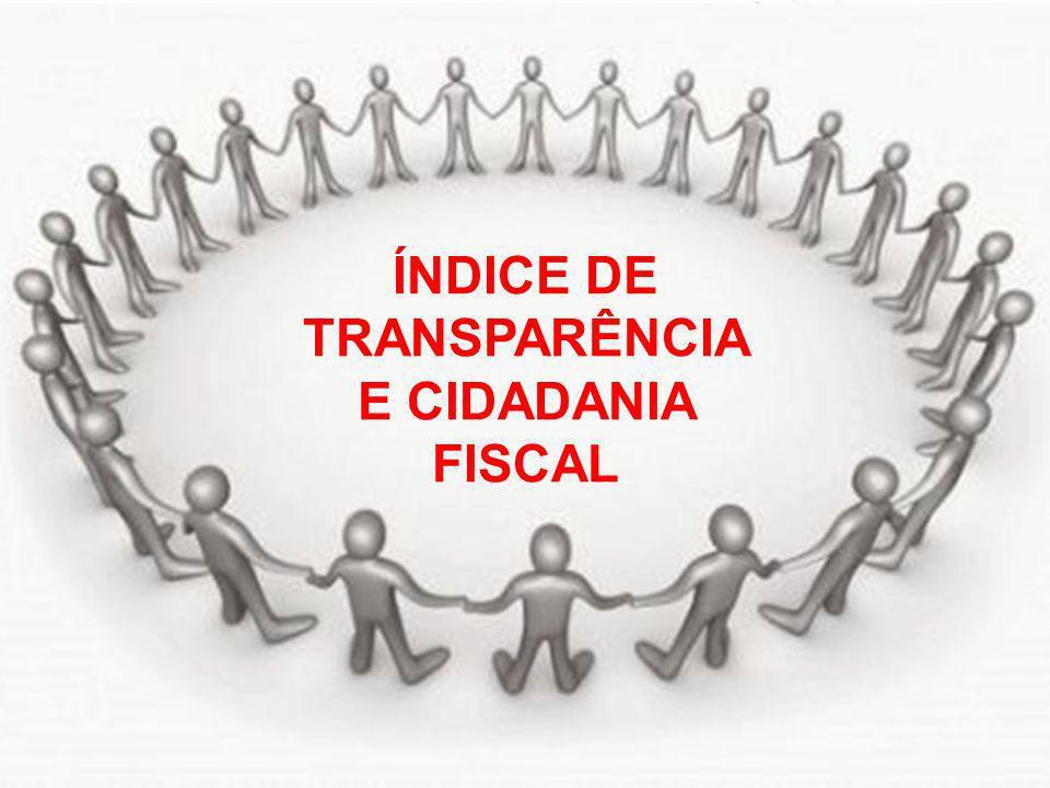 © Eurico Marcos Diniz de Santi ÍNDICE DE TRANSPARÊNCIA E CIDADANIA FISCAL