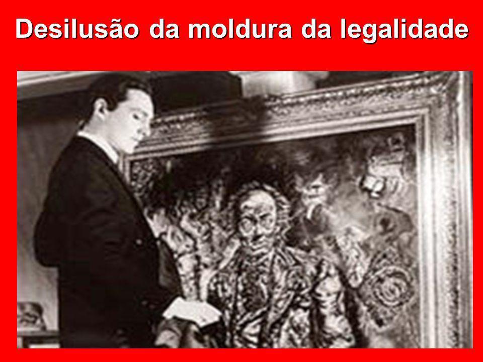 © Eurico Marcos Diniz de Santi Desilusão da moldura da legalidade