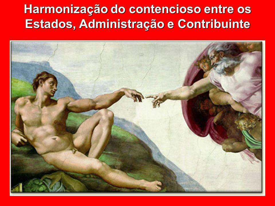© Eurico Marcos Diniz de Santi Harmonização do contencioso entre os Estados, Administração e Contribuinte