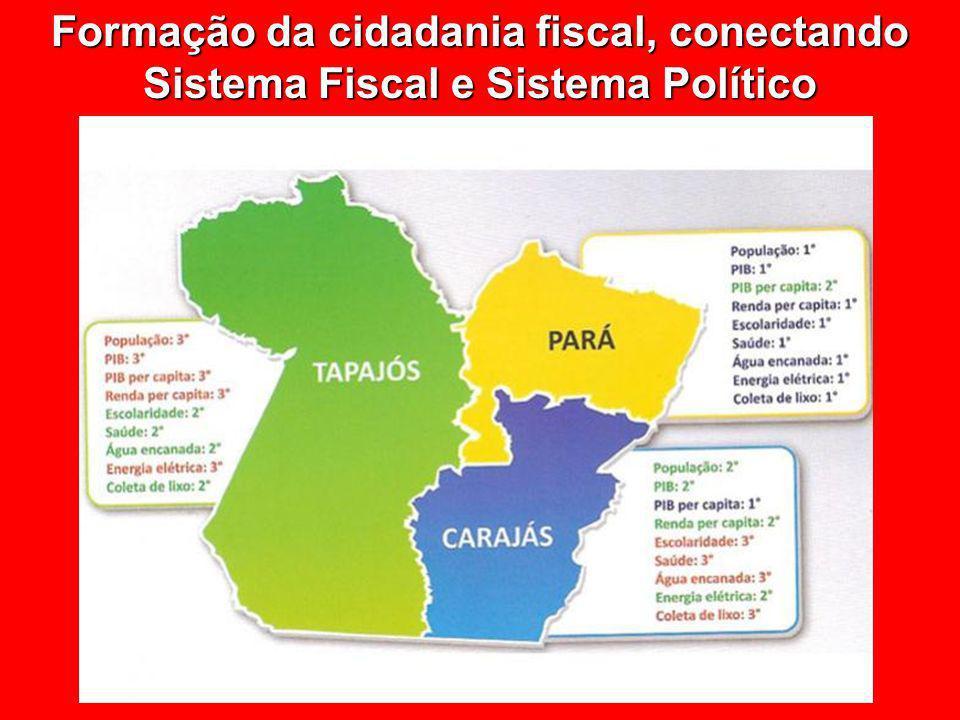 © Eurico Marcos Diniz de Santi Formação da cidadania fiscal, conectando Sistema Fiscal e Sistema Político