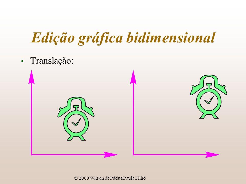 © 2000 Wilson de Pádua Paula Filho Edição gráfica bidimensional Translação: