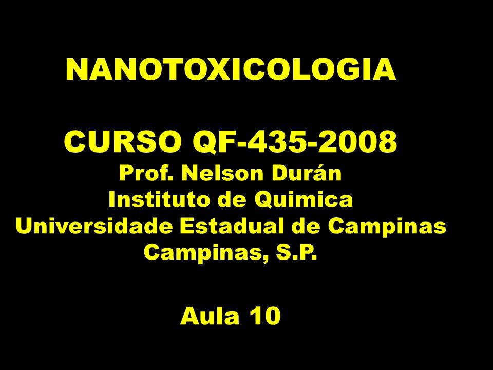 NANOTOXICOLOGIA CURSO QF-435-2008 Prof.