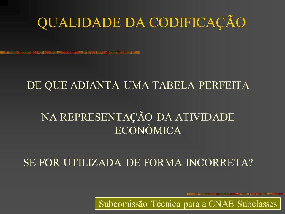 SISTEMA ÚNICO DE CODIFICAÇÃO INFORMATIZADO GRATO PELA ATENÇÃO BOM DIA A TODOS http://subcomissaocnae.fazenda.pr.gov.br Subcomissão Técnica para a CNAE Subclasses