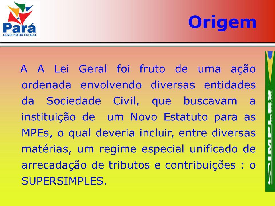 A A Lei Geral foi fruto de uma ação ordenada envolvendo diversas entidades da Sociedade Civil, que buscavam a instituição de um Novo Estatuto para as