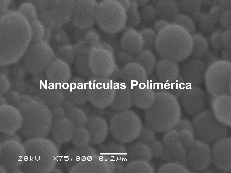 APLICAÇÃO 1- Formação de nanoesferas para substâncias lipofílicas.