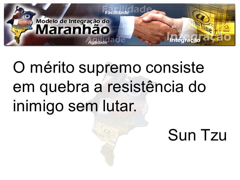O mérito supremo consiste em quebra a resistência do inimigo sem lutar. Sun Tzu