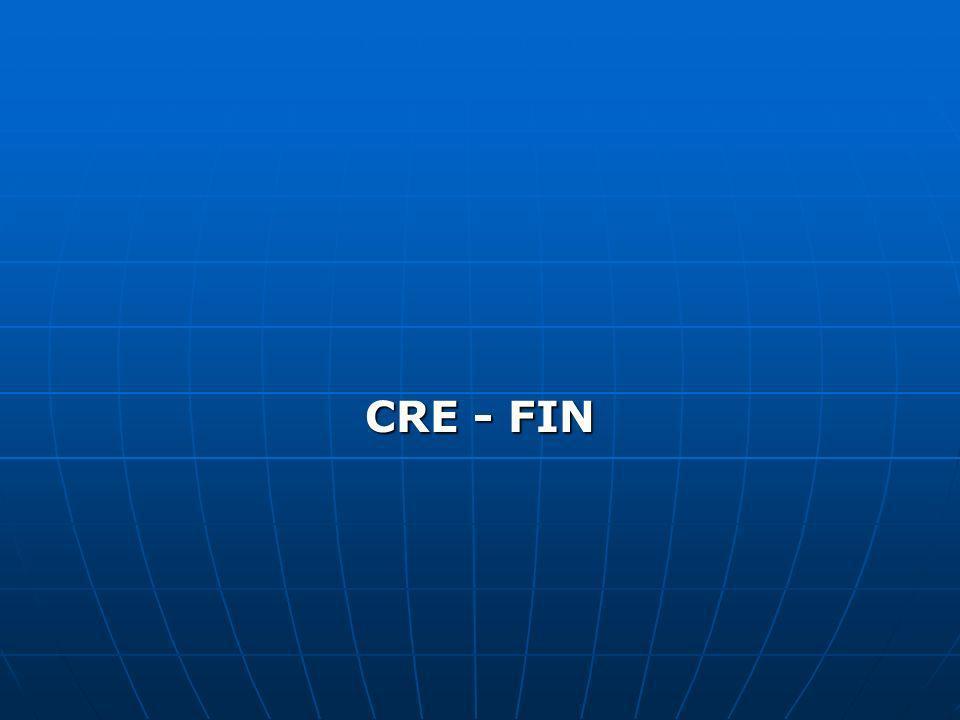 CRE - FIN
