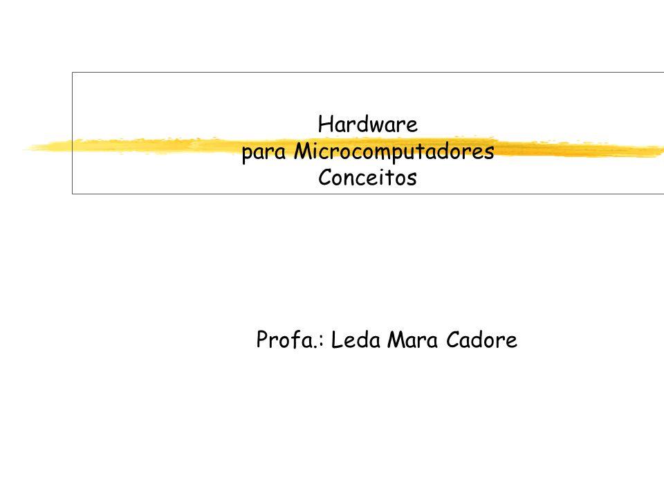 Hardware para Microcomputadores Conceitos Profa.: Leda Mara Cadore