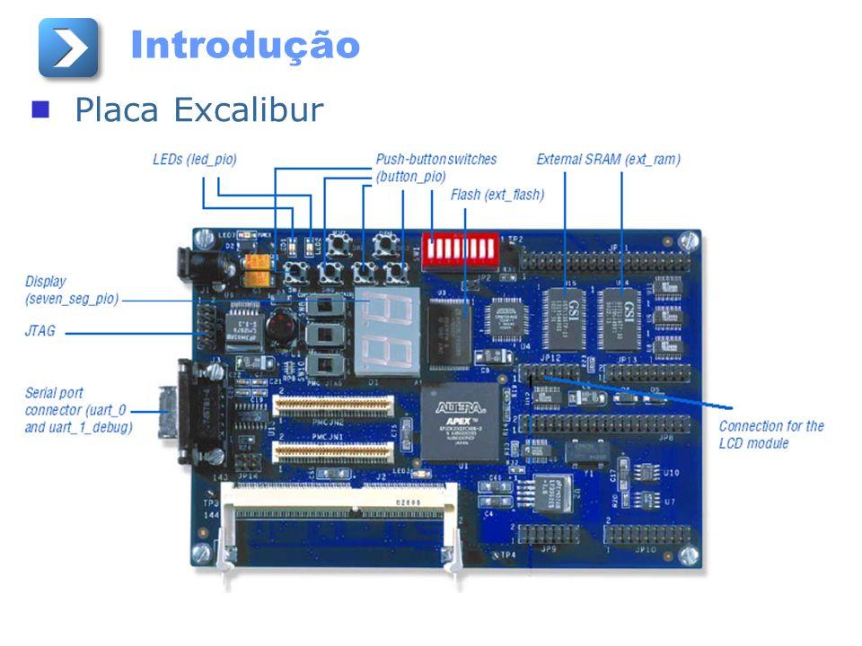 Introdução Placa Excalibur