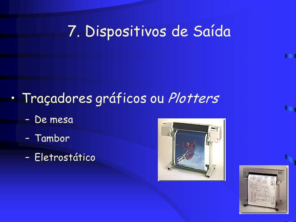 6. Dispositivos de Entrada Dispositivos de rastreamento - tracking devices Câmaras digitais