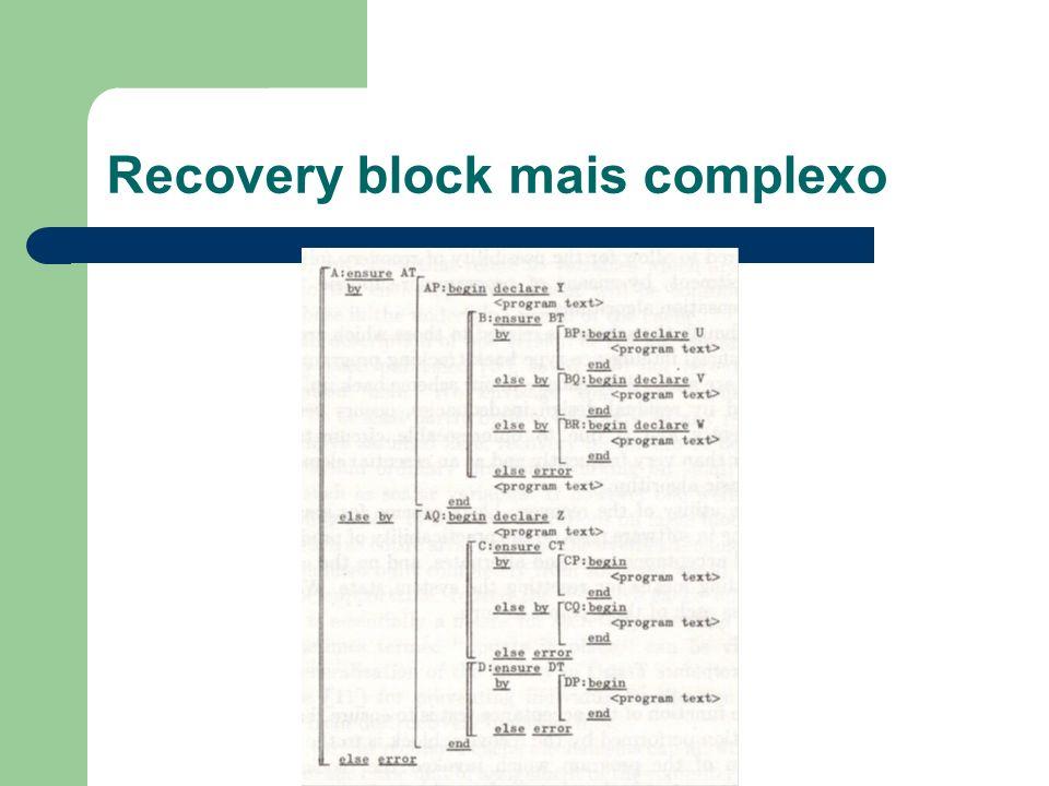 Recovery block mais complexo