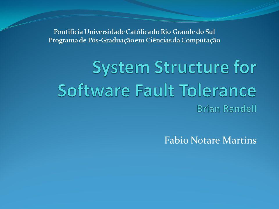 Fabio Notare Martins Pontifícia Universidade Católica do Rio Grande do Sul Programa de Pós-Graduação em Ciências da Computação