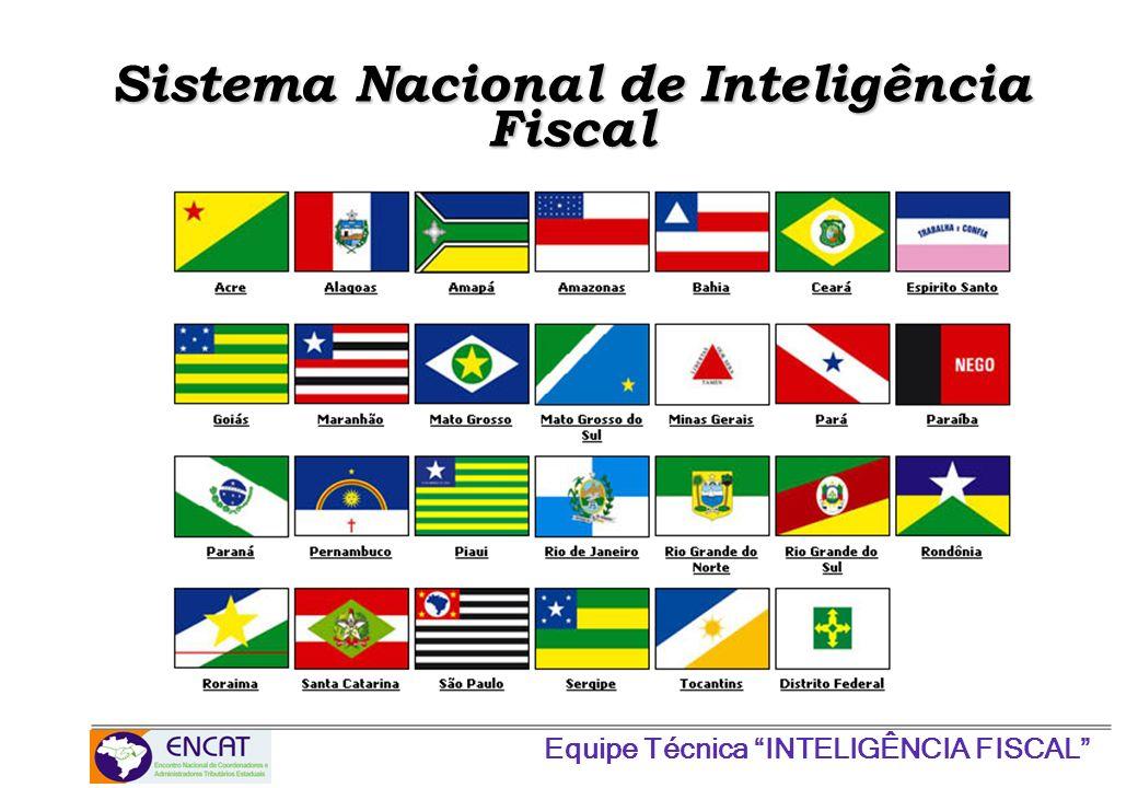Equipe Técnica INTELIGÊNCIA FISCAL Sistema Nacional de Inteligência Fiscal