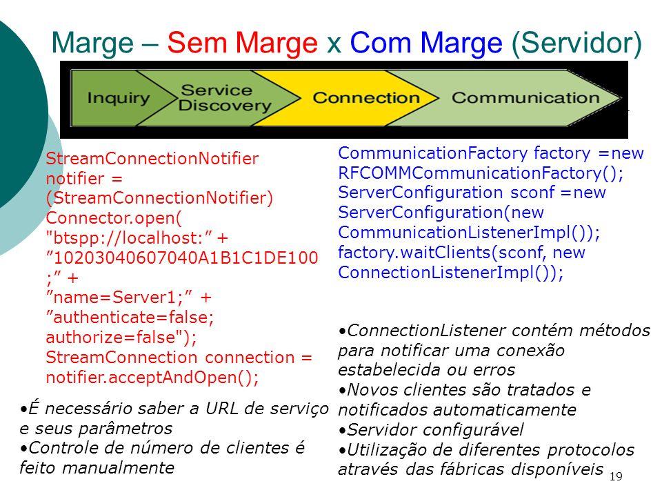 19 StreamConnectionNotifier notifier = (StreamConnectionNotifier) Connector.open(