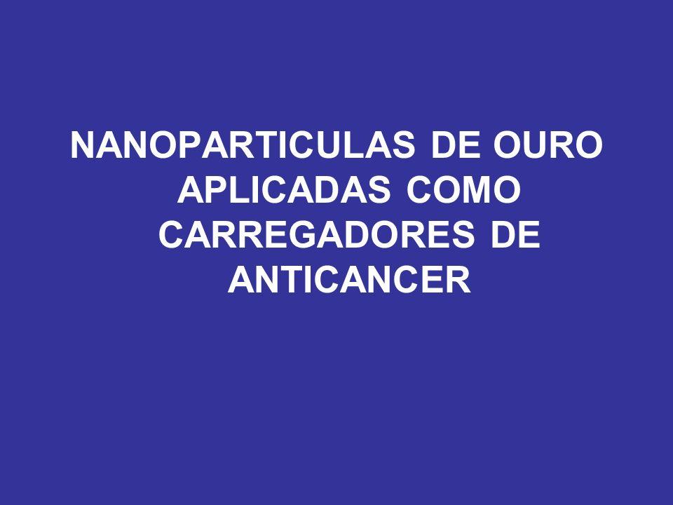 NANOPARTICULAS DE OURO APLICADAS COMO CARREGADORES DE ANTICANCER