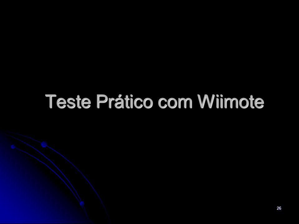 Teste Prático com Wiimote 26