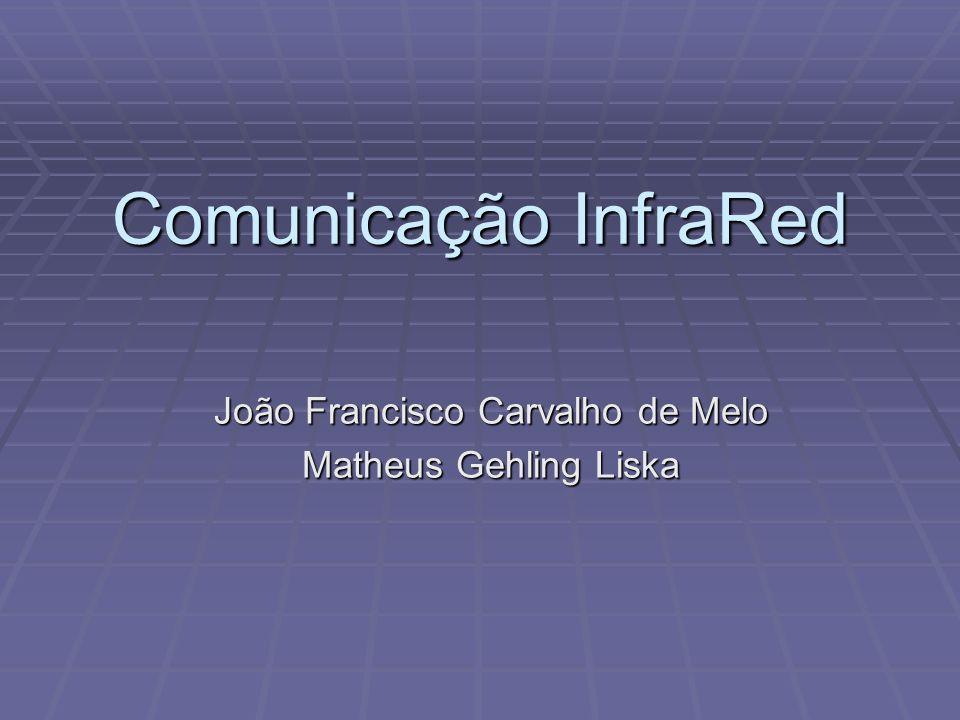 Comunicação InfraRed João Francisco Carvalho de Melo Matheus Gehling Liska