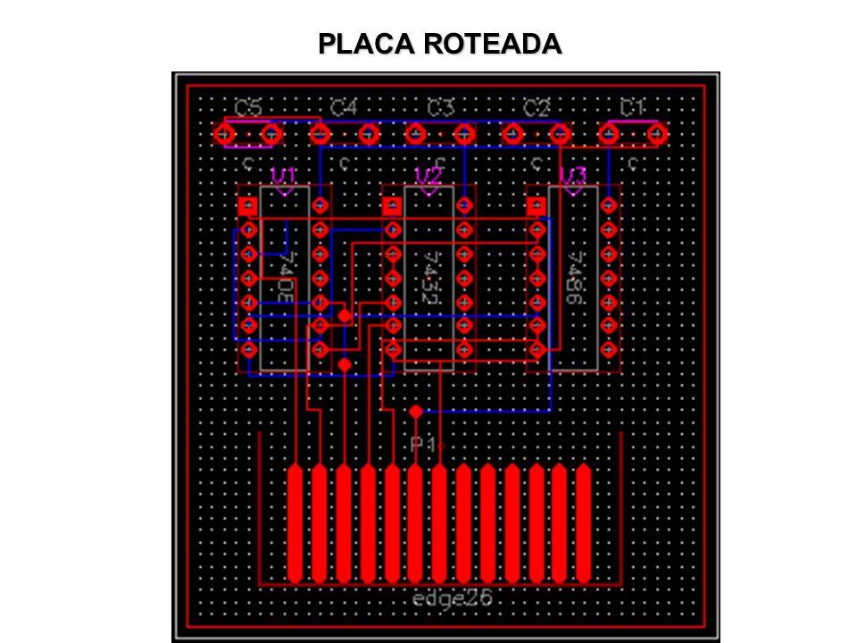 PLACA ROTEADA