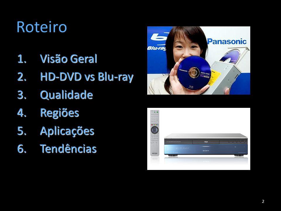Visão Geral 3 Blu-ray é o formato de disco óptico da próxima geração.