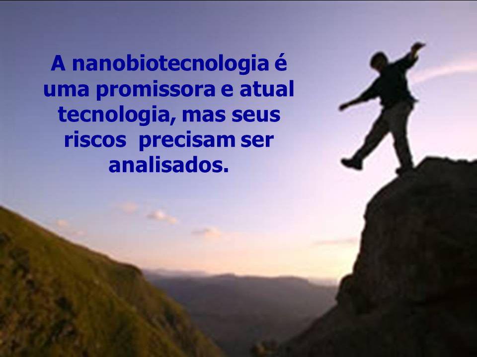 A nanobiotecnologia é uma promissora e atual tecnologia, mas seus riscos precisam ser analisados.
