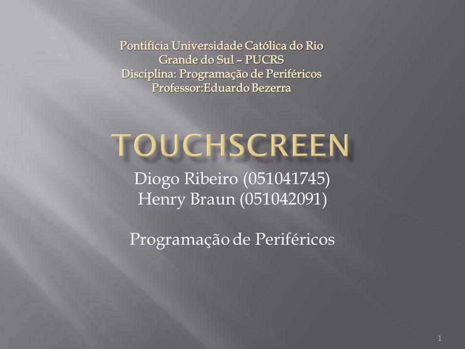 Diogo Ribeiro (051041745) Henry Braun (051042091) Programação de Periféricos 1