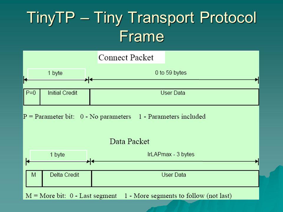 TinyTP – Tiny Transport Protocol Frame