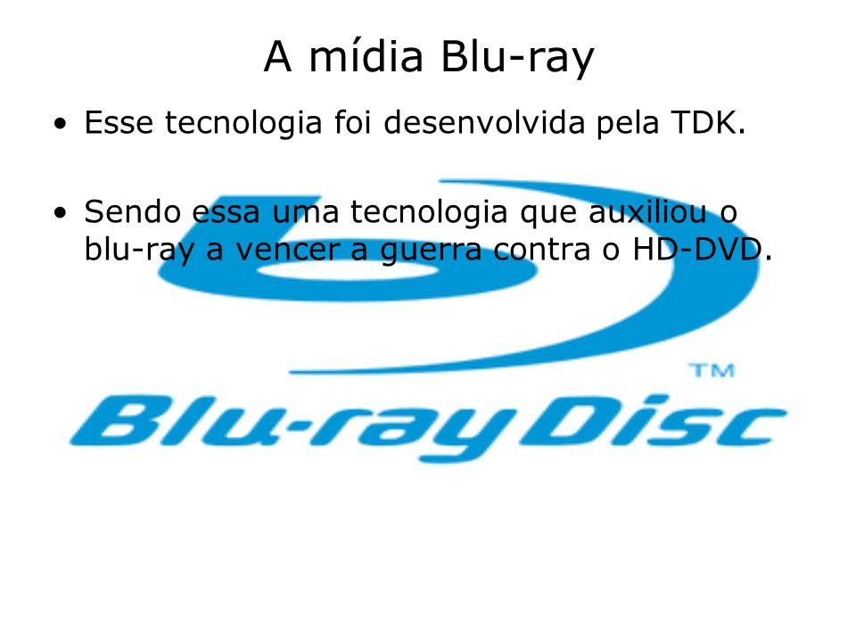 A mídia Blu-ray Esse tecnologia foi desenvolvida pela TDK. Sendo essa uma tecnologia que auxiliou o blu-ray a vencer a guerra contra o HD-DVD.