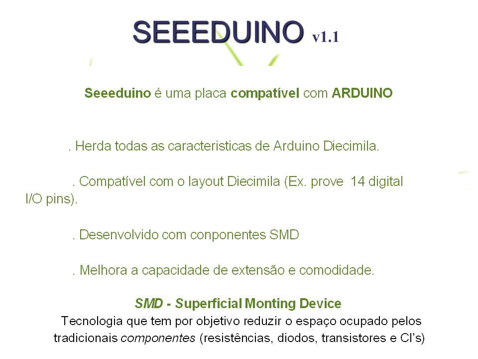 Mudanças na Seeeduino v1.1